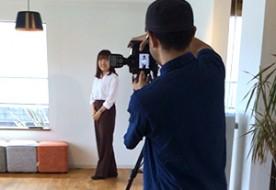 スタッフ&モデルハウスの撮影