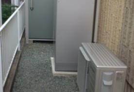 三重県松阪市M様邸エコキュート、IHクッキングヒーターに取替工事