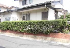 三重県津市K様邸 外塀改修工事