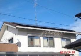 三重県津市 O様邸太陽光発電システム設置工事