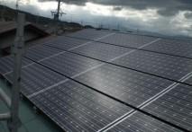 太陽光発電システム設置完了!!
