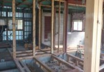 三重県菰野町U様邸 洗面脱衣室・2階和室・洋室解体