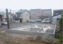 四日市 新築の現場 M様邸 基礎施工
