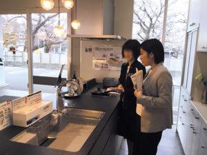 パナソニック L-CLASS キッチン 研修