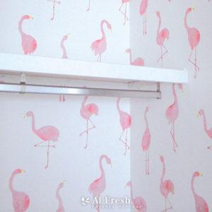 Y様 サンゲツ 壁紙 フラミンゴ