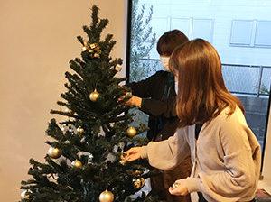 アルフレッシュ 飾りつけ クリスマスツリー