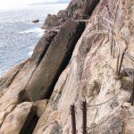 熊野の鬼ヶ城 岸壁